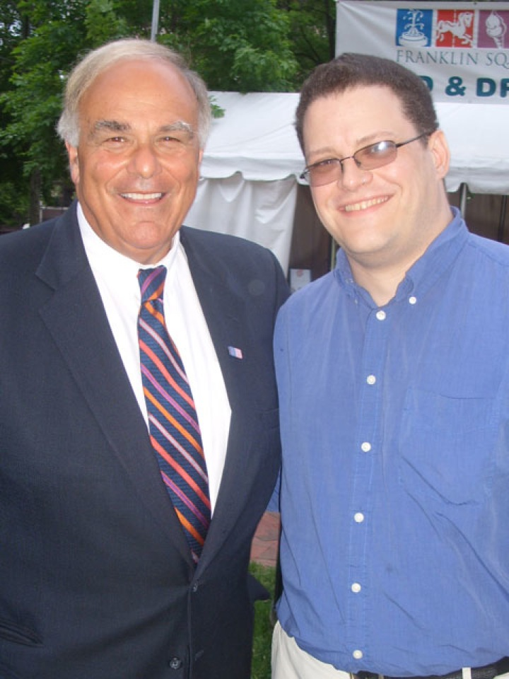 Meeting Governor Rendell